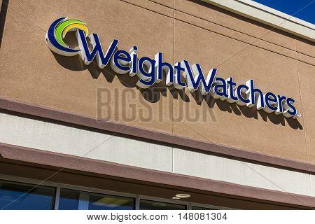 Ft. Wayne - Circa September 2016: Weight Watchers Meeting Location. Oprah Winfrey is a Weight Watchers Spokesperson and Stockholder I