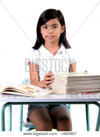 Asian Gradeschool Student