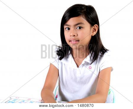 Asian Gradeshool Student
