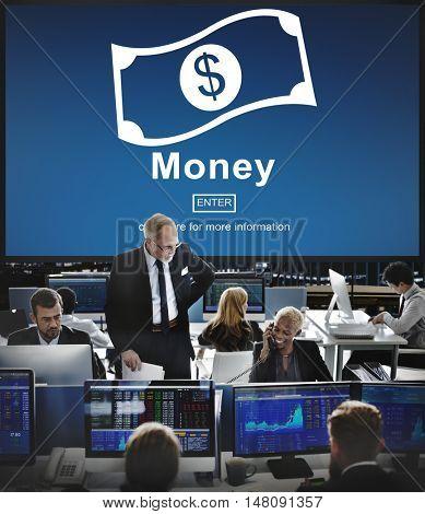 Cash Flow Business Money Financial Concept