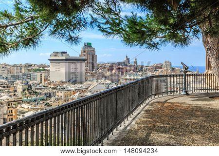 Summer View From Spianata Castelletto