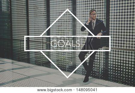 Goals Inspiration Success Target Concept