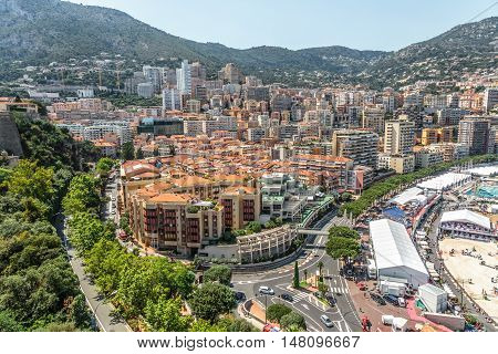 Monaco Monte Carlo Mountain View