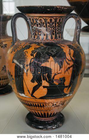 Greek Vase With Paintings