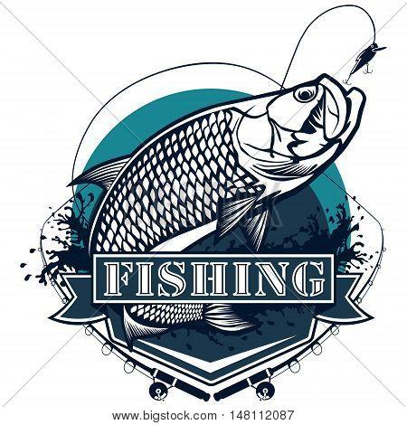 Tarpon Fishing Logo