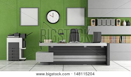 Green Modern Office