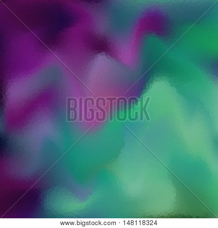 Vector colorful blurry background. Abstract texture. Modern winter beautiful backdrop