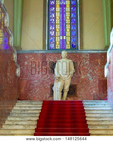 Stalin Monument In Gori Museum
