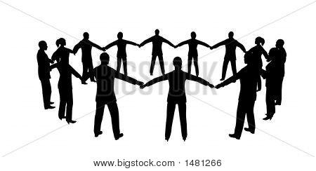 People Circle Male Female