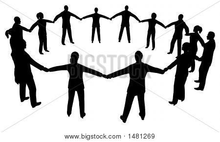 Gente del círculo Multisex