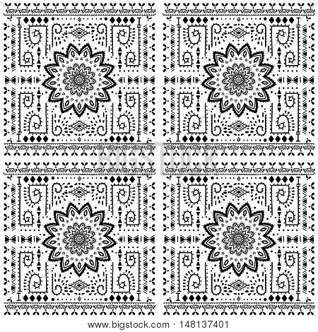Ornament color card with mandala. Pattern circle element vector. Art subject  Adults Coloring book. Kaleidoscope, medallion, yoga, india, arabic. Illustration for print, print, notebook, clothing
