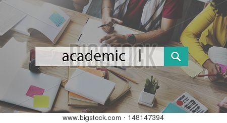 Academic Education Knowledge Wisdom Insight Concept