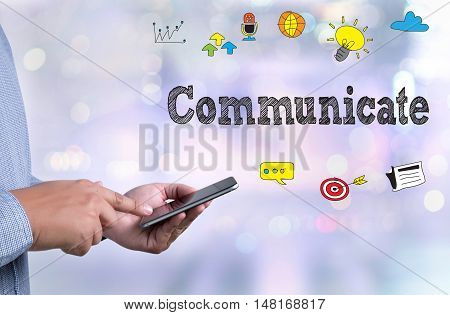Broadcast Communicate Music Icon Connection Use Communicate