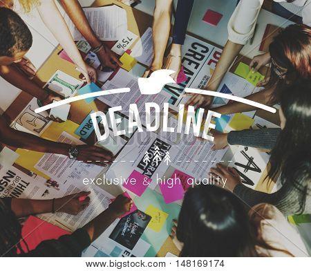 Deadline Punctual Time Management Urgency Concept