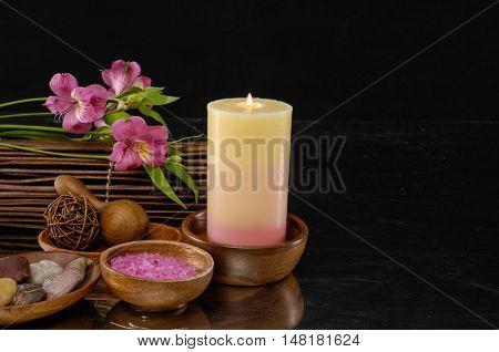 Alternative therapy Beautiful spa concept