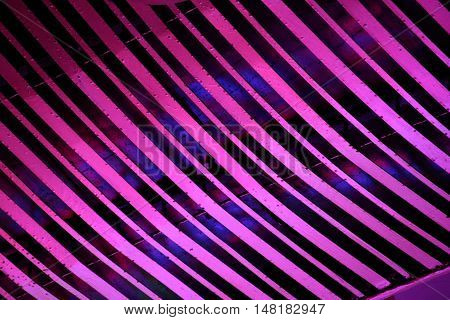 light painting abstract pattern on the wall