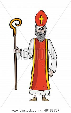 Saint Nicholas In Bishop's Clothing