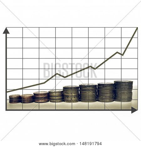 Vintage Money Chart
