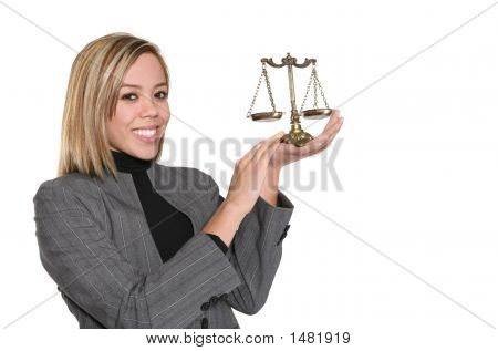 Lawyer With Scale