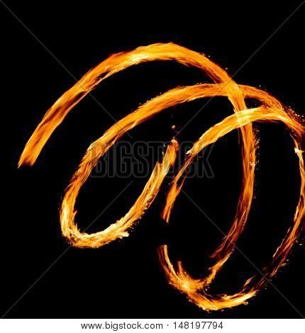 Human Torch Gasoline Dance