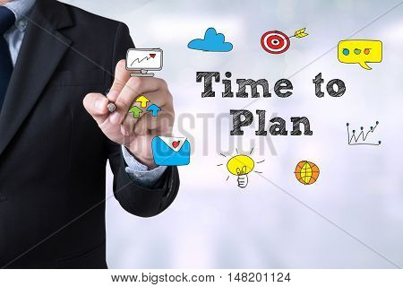 Time To Plan Concept