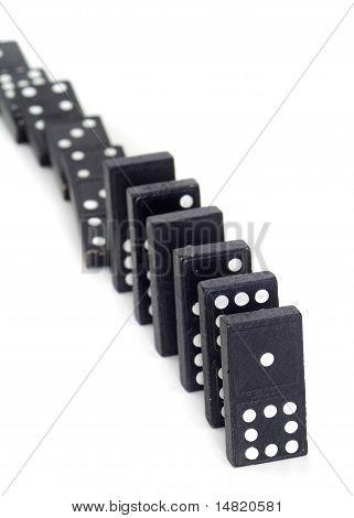 Toppled Dominos
