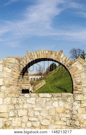 Fortress of Kalemegdan in Belgrade City Serbia