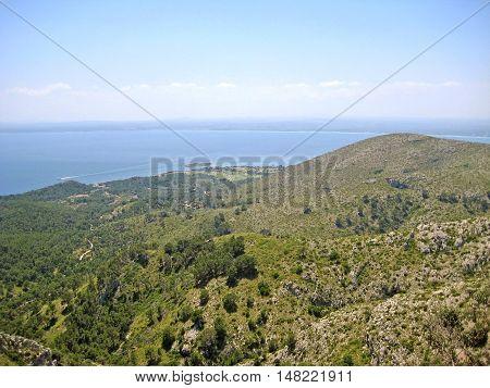 Bay Of Alcudia / Peninsula Victoria, Majorca, Spain