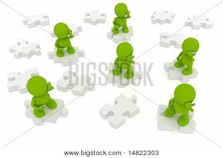 Communication Puzzle