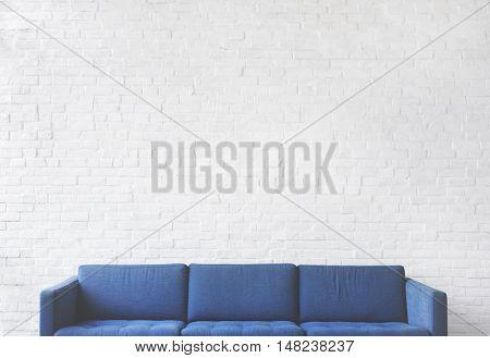 Sofa Furniture Modern Interior Living Room Concept