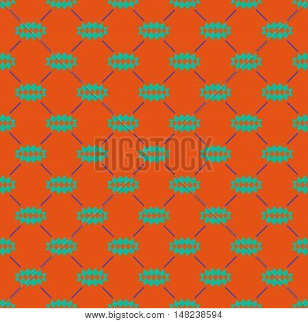 Oval of rhombuses line seamless pattern. Fashion graphic background design. Modern stylish abstract color texture. Template for prints textiles wrapping wallpaper website VECTOR illustration