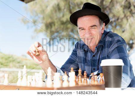 Thinking chess strategy