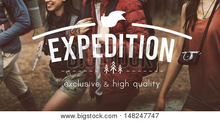 Expedition Adventure Traveling Exploration Journey Concept