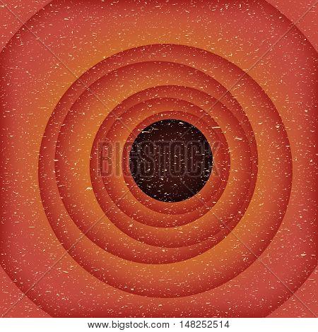 Red holes vintage background, vector illustration, wallpaper