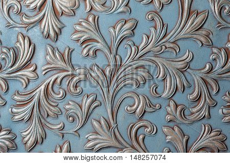 texture of old wall with a relief pattern