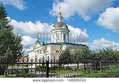 Church of Archangel Michael in Kolomna built at the end of the XVIII century