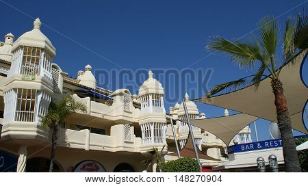 Costa del Sol a nice resort in Andalucia Spain