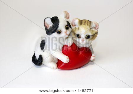 Kitten'S And Heart