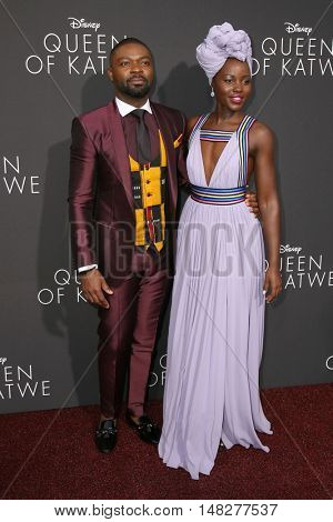 LOS ANGELES - SEP 20:  David Oyelowo, Lupita Nyong'o at the