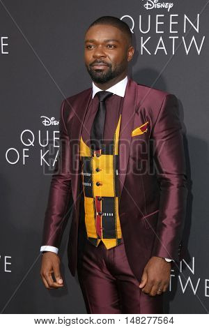 LOS ANGELES - SEP 20:  David Oyelowo at the