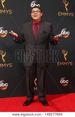 LOS ANGELES - SEP 18:  Rico Rodriguez at the 2016 Primetime Emmy Awards - Arrivals at the Microsoft Theater on September 18, 2016 in Los Angeles, CA