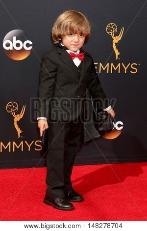 LOS ANGELES - SEP 18:  Jeremy Maguire at the 2016 Primetime Emmy Awards - Arrivals at the Microsoft Theater on September 18, 2016 in Los Angeles, CA