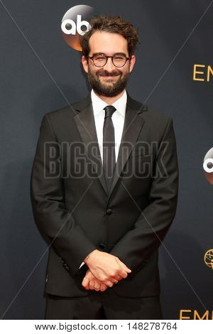 LOS ANGELES - SEP 18:  Jay Duplass at the 2016 Primetime Emmy Awards - Arrivals at the Microsoft Theater on September 18, 2016 in Los Angeles, CA