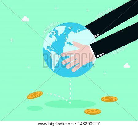 Shake The World To Make Money