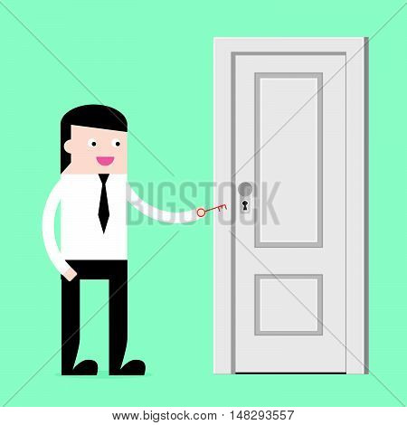 Unlock Door For Success