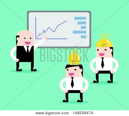 Concept Of Business Meeting Strategy