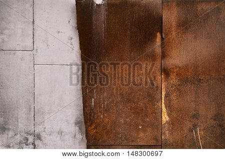 old concrete wall. It can be used for background