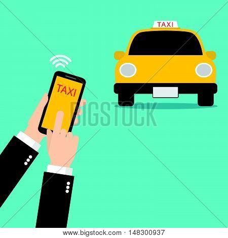 Mobile Taxi Service Application
