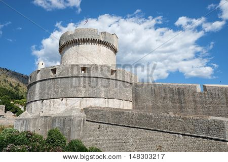 Dubrovnik Minceta Tower and city walls, Croatia