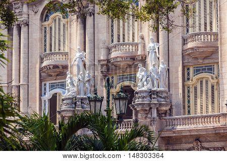 Great Theatre, Old Town, Havana